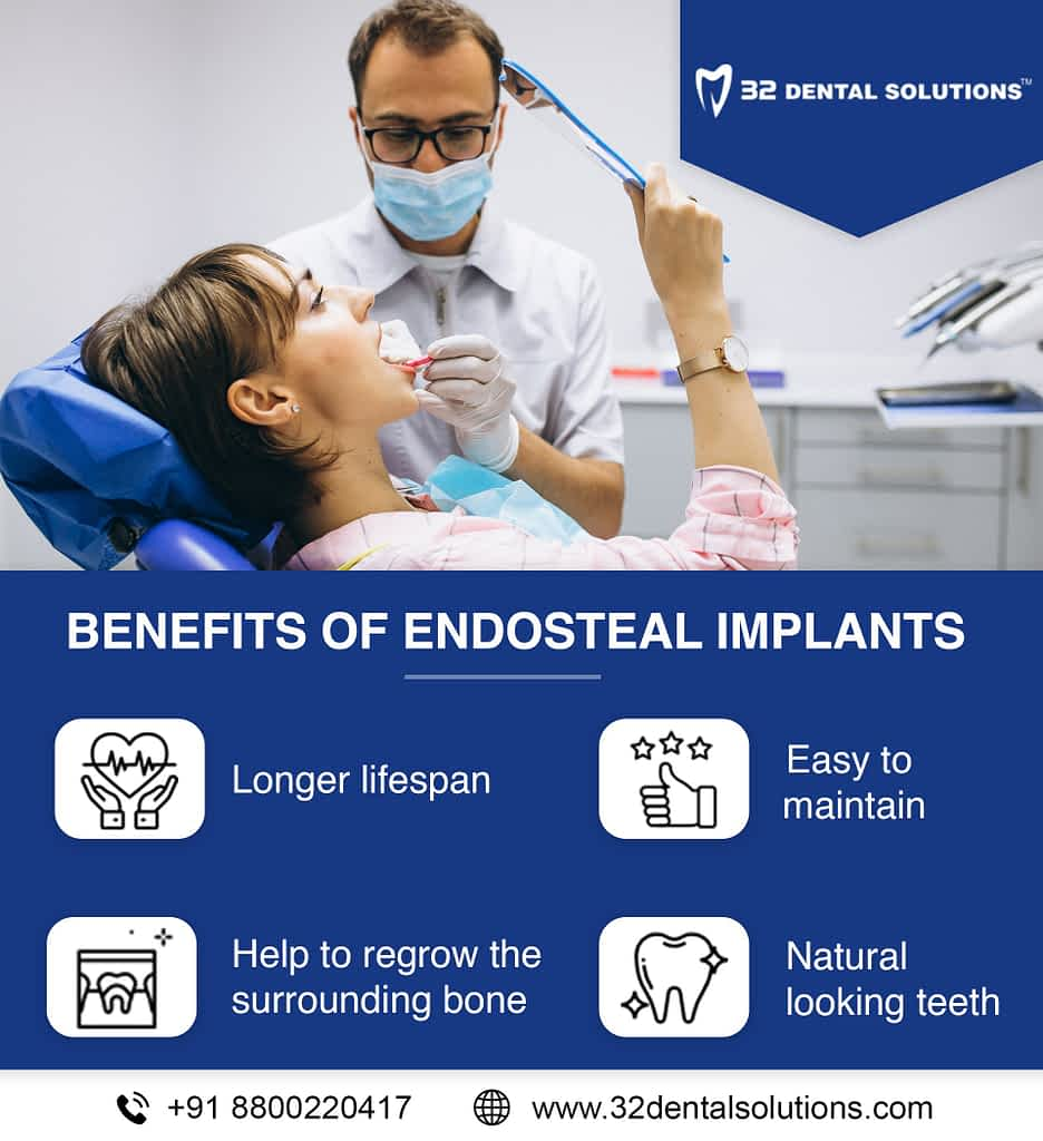 benefits of Endosteal implants
